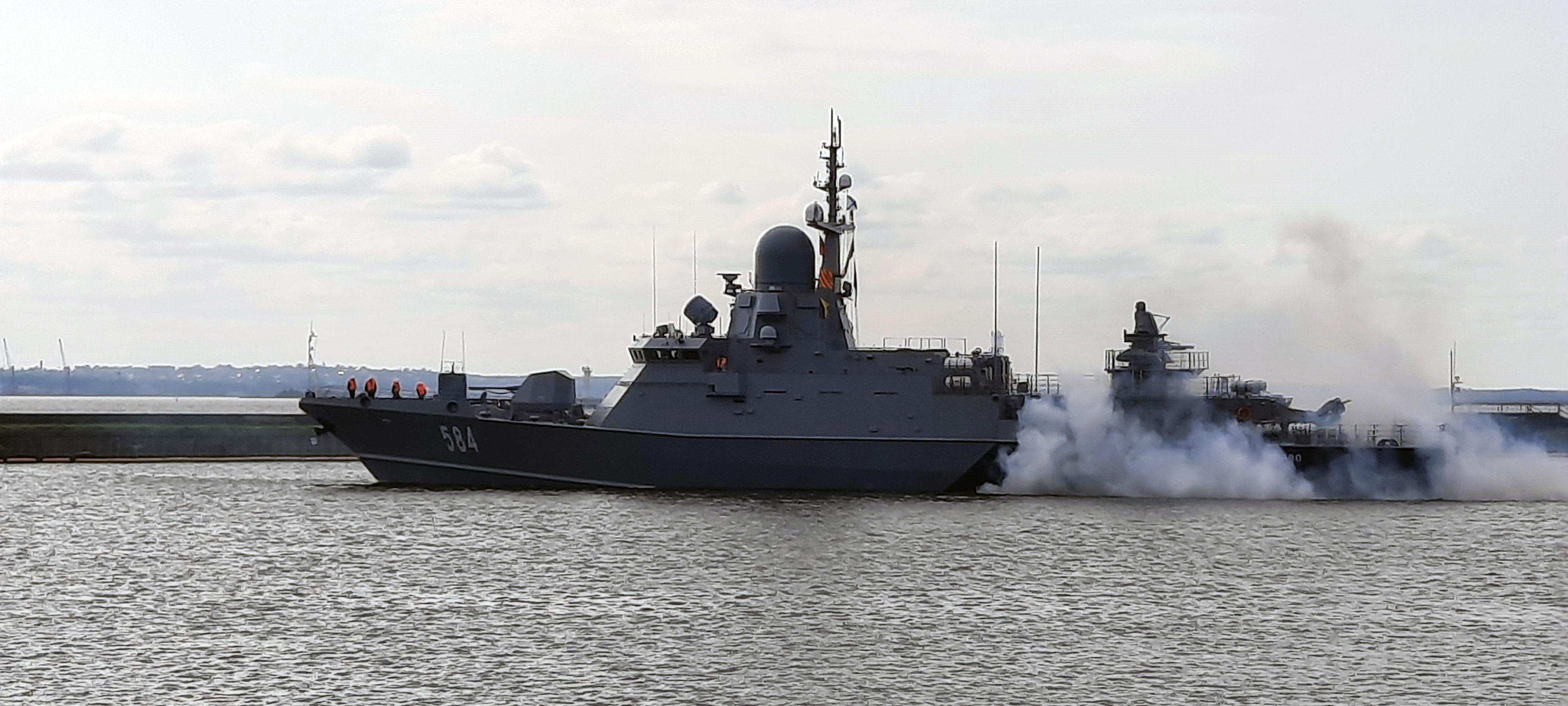 """Project 22800: """"Karakurt"""" class missile ship #2 07-10020501-odintsovo"""